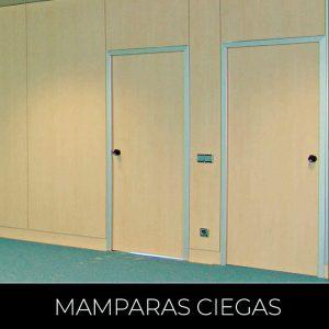 Mamparas Ciegas